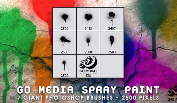 Go Media Brushes - Photoshop Brushes