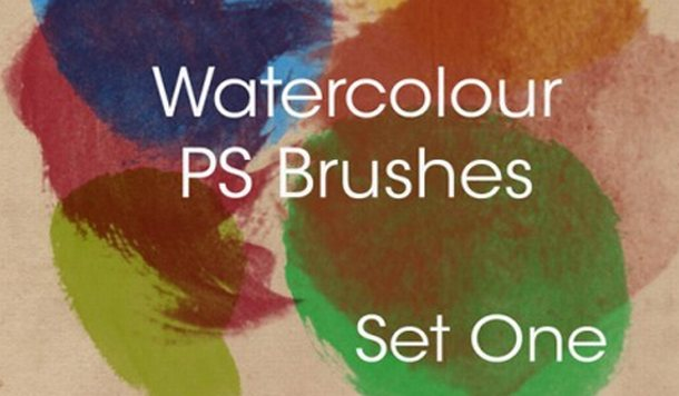 Hi-Res Watercolor Brushes 2 - Photoshop Brushes