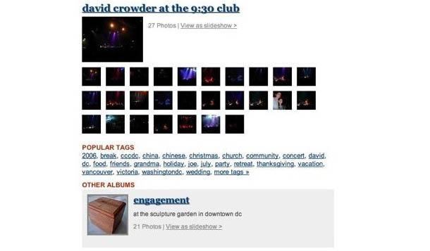 Wordpress Flickr Photo Album Plugin